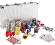 HiTrade Pokerset mit 300 Laserchips