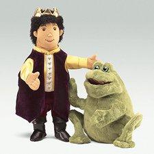 Folkmanis Frosch wird zum Prinz