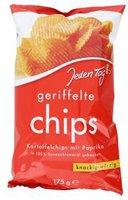 Jeden Tag Geriffelte Kartoffelchips mit Paprika (175 g)