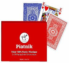 Piatnik Plastik Poker Cards (2360)
