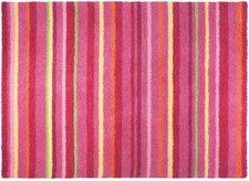 Esprit Home Kinderteppich Funny Stripes pink