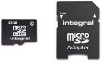 Integral microSDHC 32GB Class 10 Card