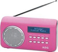 AEG Unterhaltungselektronik DAB 4130 pink