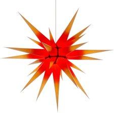 Herrnhuter Sterne I8 Kern rot - gelbe Spitze (80 cm)