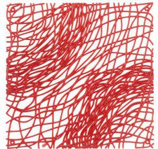 Koziol Silk Raumteiler rot (1123536)