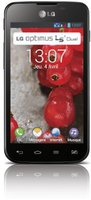 LG Optimus L5 II Glossy Black ohne Vertrag