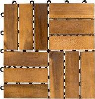stilista Holzfliese Akazie geölt 30 x 30 cm