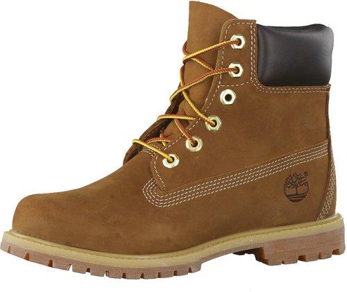 Timberland Women's 6-Inch Premium Waterproof Boot (10360) rust-nubuck