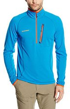 Mammut Eiswand Zip Pull Light Men Cyan