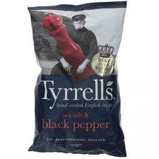 Tyrrell's Sea Salt & Black Pepper (150 g)
