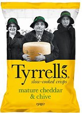 Tyrrell's Mature Cheddar Cheese & Chives (150 g)
