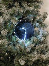 Europalms LED Snowball dunkelblau (8 cm)