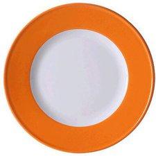Dibbern Solid Color orange Frühstücksteller 21 cm