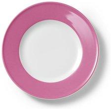 Dibbern Solid Color pink Frühstücksteller 21 cm