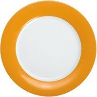 Kahla Pronto orange gelb Brunchteller flach 23 cm