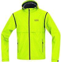 Gore Essential Windstopper Active Shell Zip-Off Jacke gelb