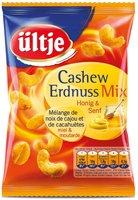 Ültje Cashew Erdnuss Erdnuss Mix Honig & Senf (200 g)