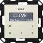 Gira Unterputz-Radio RDS ohne Lautsprecher cremeweiß (228401)