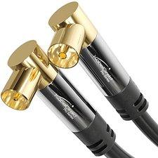 KabelDirekt Pro Series Antennenkabel - Winkelstecker