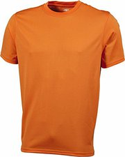 James & Nicholson Men's Active T orange