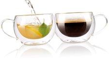 Cucina di Modena Doppelwandiges Kaffee- & Tee-Glas 2er-Set