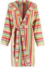 Cawö Damen Bademantel Lifestyle (7081) multicolor