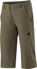 Mammut Hiking 3/4 Pants Women Dark Oak