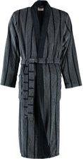 Cawö Herren Bademantel Kimono (2830) schwarz