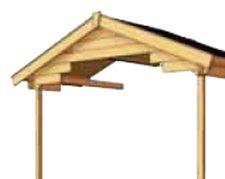 Skanholz Vordach für Como/Faro 28 mm 300 x 200 cm