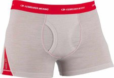 Icebreaker Relay Boxer Brief ivory / rocket