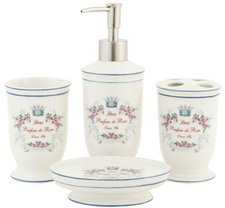 Clayre & Eef Parfum de Roses Bad-Set 4 tlg. (61718)