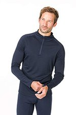 Super Natural Base 1/4 Zip 175 Men