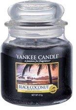 Yankee Candle Black Coconut Medium Jar Candle (411g)