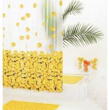Ridder Lemon Zitronen Duschvorhang Folie (180 x 200 cm)