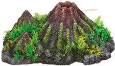 """Nobby Aqua Ornaments  """"VULKAN """" mit Pflanzen 28338"""