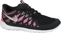 Nike Free 5.0 2014 GS Girls black/metallic silver/pink glow/white