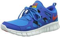 Nike Free Run 2.0 GS Junior hyper cobalt/team orange/photo blue/black