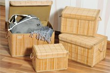 Kesper Aufbewahrungsbox Bambus 28,5x19x18,5cm