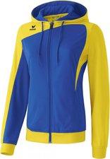 Erima Damen Club 1900 Trainingsjacke mit Kapuze new royal/gelb