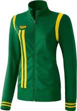 Erima Damen Retro Jacket smaragd/gelb
