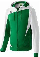 Erima Kinder Club 1900 Trainingsjacke mit Kapuze smaragd/weiß