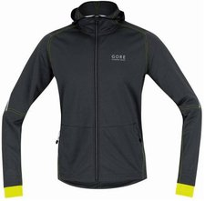 Gore Essential Windstopper Soft Shell Hoody black