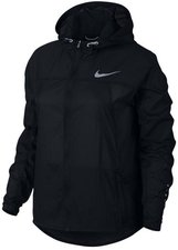 Nike Impossibly Light Damen Laufjacke Schwarz/ Volt