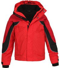 Bergson Dobby Jacket Chinese Red
