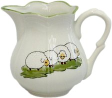 Zeller Keramik Milchtopf 0,5 l