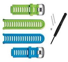 Garmin Ersatzbänder Pack für Forerunner 910XT grün und blau