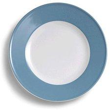 Dibbern Solid Color vintage blue Frühstücksteller 21 cm