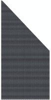 Brügmann TraumGarten Weave 88 x 178/88 cm rechts anthrazit