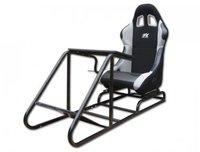 FK Automotive Rennsimulationssitz schwarz-grau