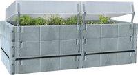 Juwel Terrassen-Hoochbeet / Balkon-Hochbeet basalt